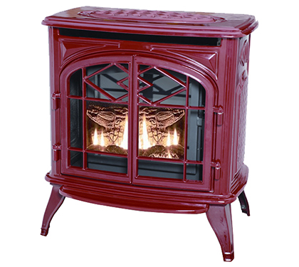 The Classic Series Gas Pellet Wood From Thelin Hearth