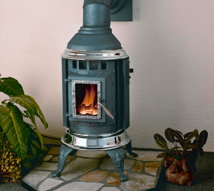 Gnome Direct Vent Gas Stove