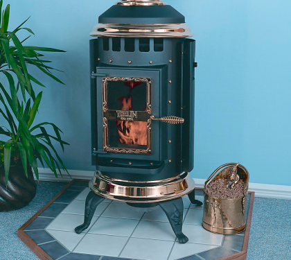 Parlour Wood Stove From Thelin Hearth Products